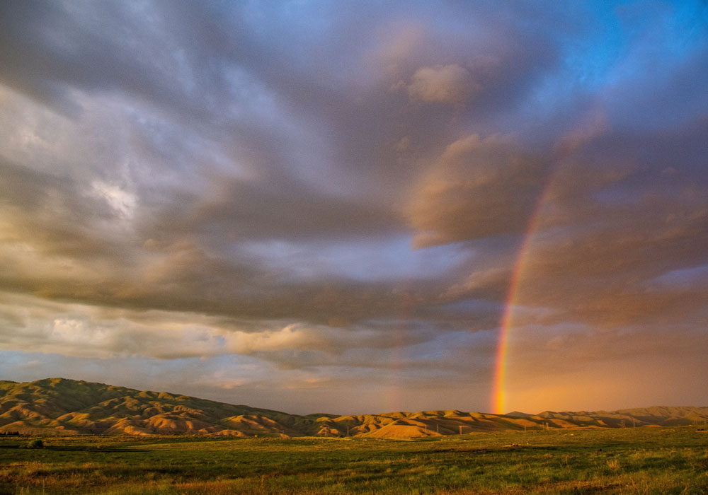 Of rainbows and sunshine
